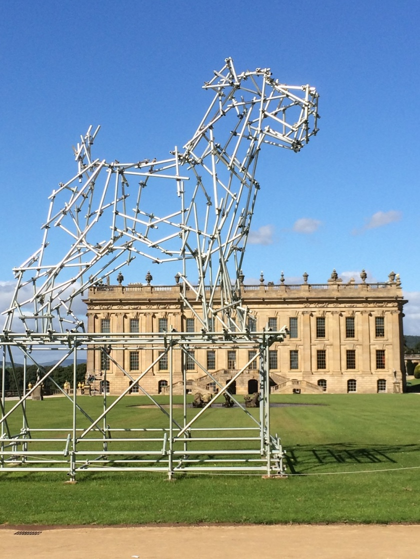 Glynis's Chatsworth The Dog sculpture A