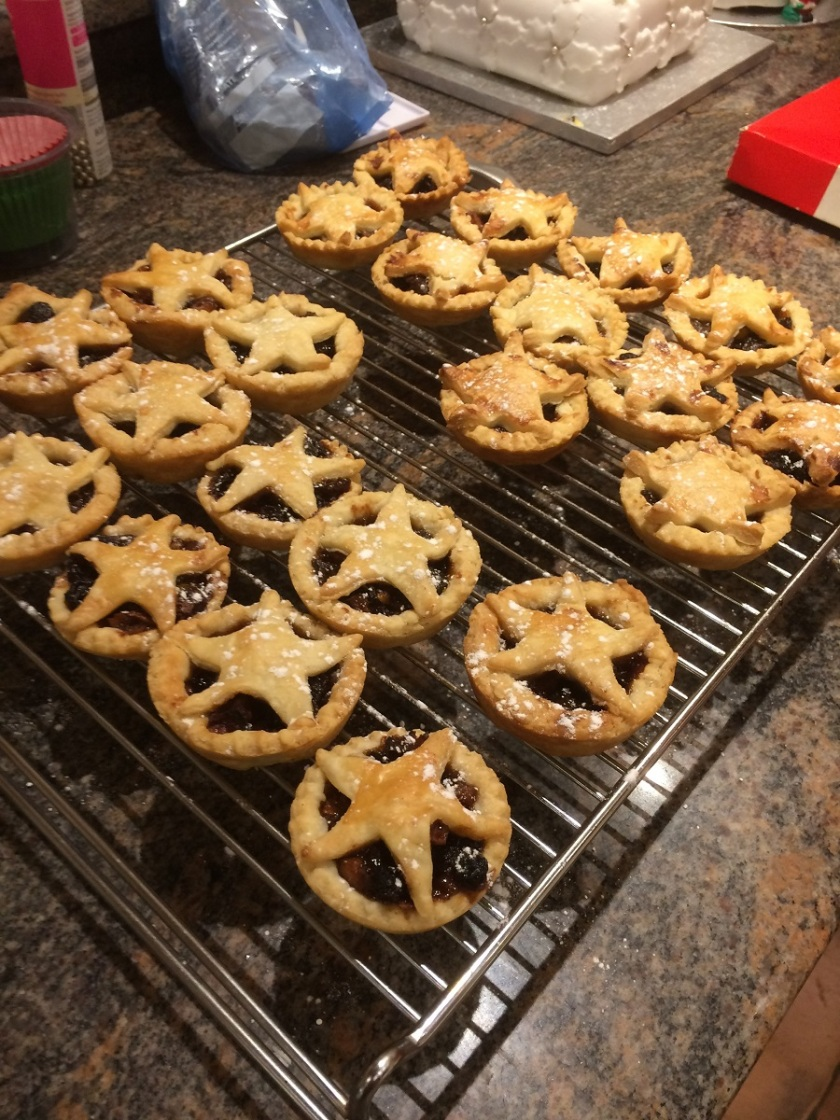 Glynis's mince pies A
